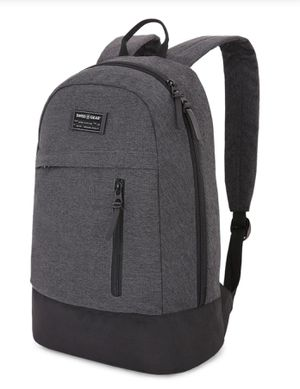 SwissGear Getaway Daypack in a heather gray laptop backpack for Sale in Charlotte, NC