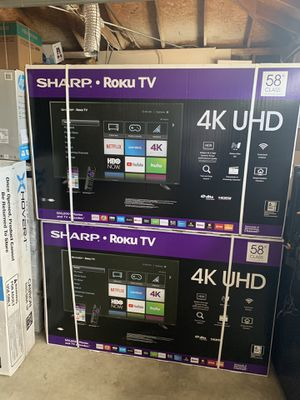 PROMOTION OF THE WEEK!! Sharp 58 INCH TVS SMART ROKU!!/ for Sale in Diamond Bar, CA