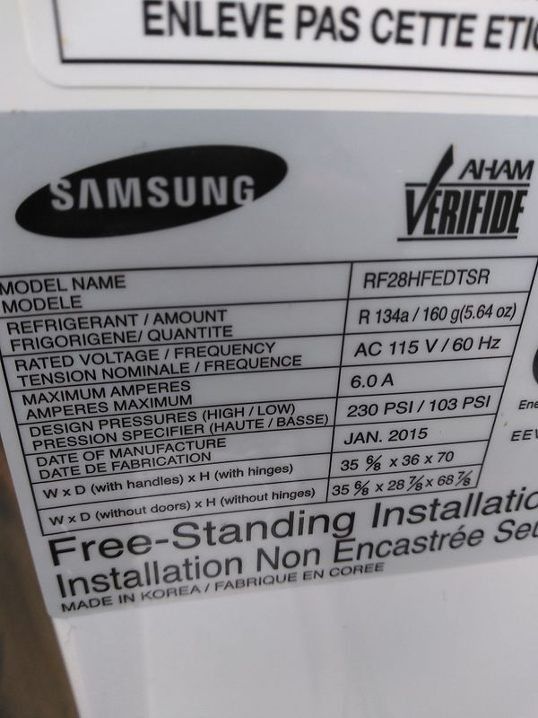 Fridge Samsung
