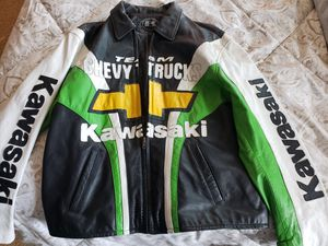 Motorcycle jacket (m) Kawasaki for Sale in Beaumont, CA