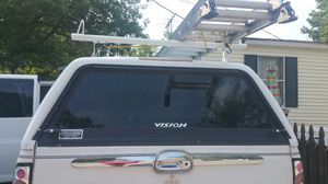 Vision camper shell top with ladder racks for Sale in Norfolk, VA
