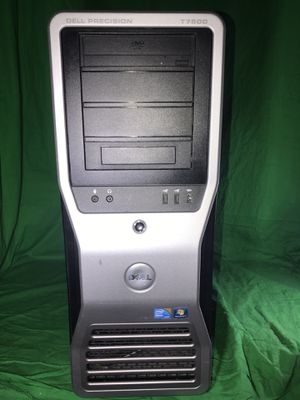 Dell Precision T7500 Workstation Dual Xeon 8 Core 2.4GHz 12GB 1TB windows 10 for Sale for sale  Upland, CA