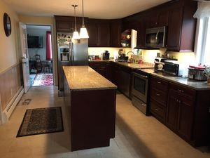 Cherry kitchen cabinets for Sale in West Warwick, RI