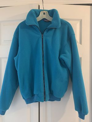 Patagonia turquoise blue fleece jacket for Sale in Rochester, MI
