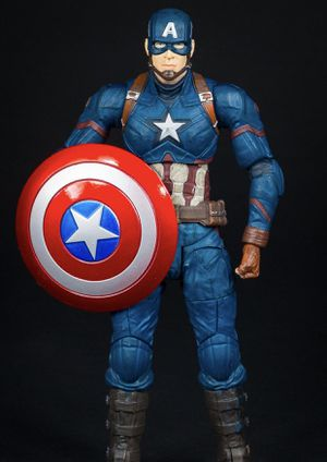 Marvel select Captain America Action Figure for Sale in San Marcos, CA