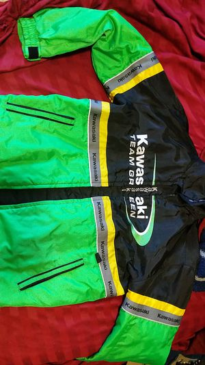 "Kawasaki ""Team Green"" motorcycle jacket for Sale in Tacoma, WA"
