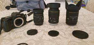 SIGMA SA-5 35 mm single reflex film camera for Sale in St. Louis, MO