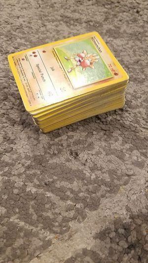 Vintage pokemon cards obo for Sale in Albuquerque, NM