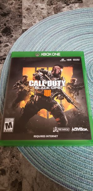 Call of duty 4 xbox one for Sale in Tampa, FL