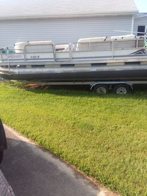 22 foot pontoon boat for Sale in Elizabeth City, NC