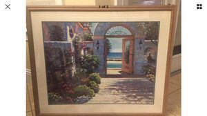 Howard Behrens hotel California print for Sale in FL, US