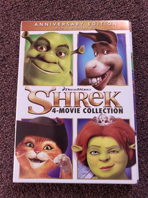 Shrek 4 Movie Collection Dvd for Sale in Fontana, CA