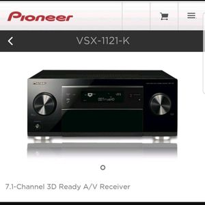 Pioneer VSX-1121-K Receiver Amplifier 125w/Channel - $300 for Sale in Irvine, CA