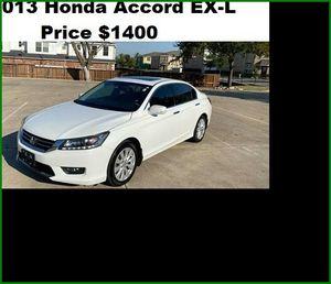 ֆ14OO_2013 Honda Accord EX-L for Sale in Sacramento, CA