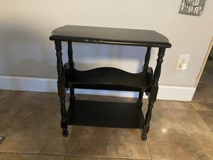 Painted wood side table for Sale in Phoenix, AZ