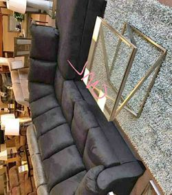 Same-day delivery 🥳🤠darcy black Ashley sectional (39 $DOWN PAYMENT) for Sale in Houston,  TX