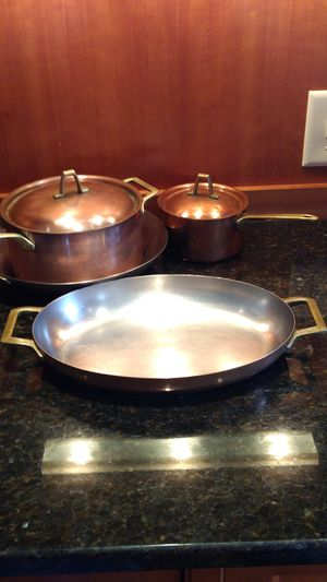 Set of Paul Revere Copper Cookware for Sale in Damascus, MD