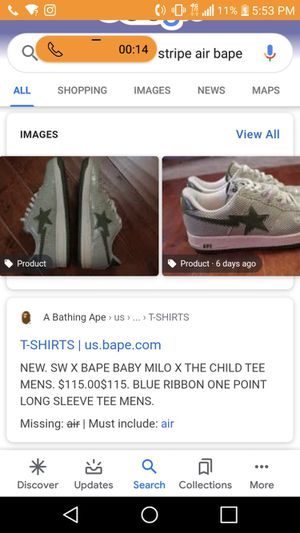 I wanna sell these hype beast shoes worth 350 selling for 100 85 if you can come to me for Sale in Mountlake Terrace, WA