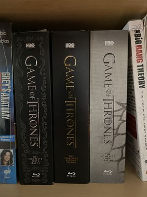 Game of thrones season 1-3 Blu-ray for Sale in Lacey, WA