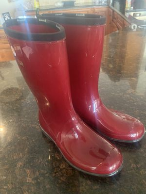 Women's rain boots size 9 for Sale in Clermont, FL