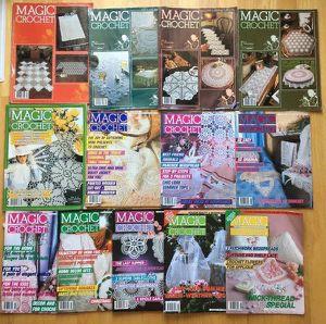 Lot 13 Magic Crochet magazines for Sale in Steilacoom, WA