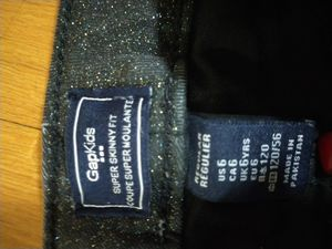 Gap kids skinny fit size 6 girls jeans for Sale in New York, NY