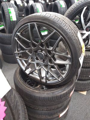 20 inch spec1 wheels and tires for Sale in Spartanburg, SC