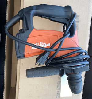Hilti TE 6-S Rotary Hammer Drill for Sale in Citrus Heights, CA