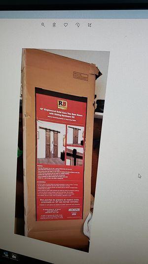 "ReliaBilt 18"" two barn doors for Sale in Mount Prospect, IL"