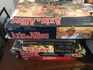 Vintage strategy war games for Sale in Tacoma, WA