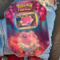 Pokémon Tin for Sale in Houston,  TX
