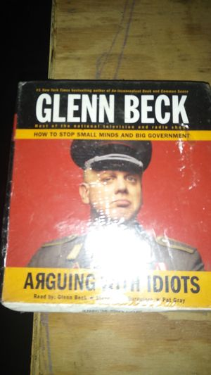 Glenn Beck arguing with idiots audible for Sale in Summerfield, FL