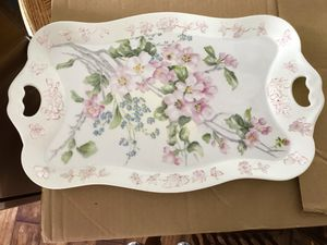 RealD'arte Portugal Fancy Glass Platter for Sale in Vienna, MO