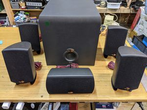 Klipsch Promedia 5.1 Computer Speaker Set for Sale in Enumclaw, WA