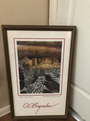 Beautiful picture author information on it for Sale in Euless, TX