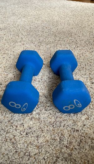 Two 8lb weights for Sale in Seattle, WA