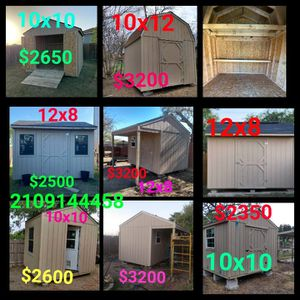 sheds for Sale in San Antonio, TX