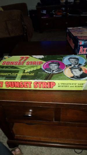 1960 77 sunset strip board game for Sale in Hillsboro, OR