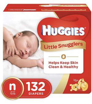 Huggies newborn diapers for Sale in Moreno Valley, CA