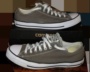 BRAND NEW- NEVER WORN-GRAY MEN'S CONVERSE- SIZE 10 for Sale in St. Louis, MO