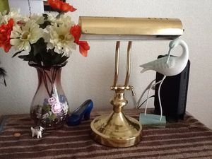 Brass desk lamp for Sale in San Antonio, TX