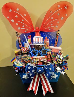 Kids 4th of july baskets for Sale in Nashville, TN