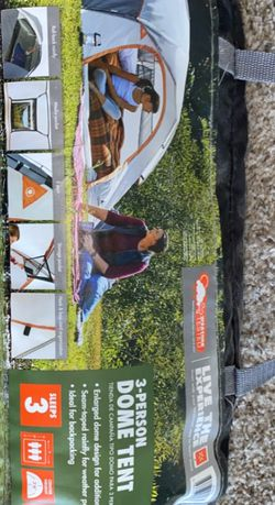 OZARK TRAIL 3 PERSON DOME TENT for Sale in Colorado Springs,  CO