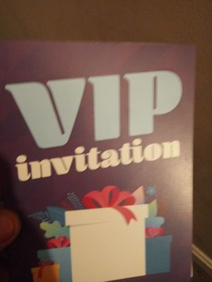 Vip invitation for Sale in Gaithersburg, MD