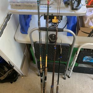 Fly Rod Gear Rods And A Reel for Sale in Winter Haven, FL