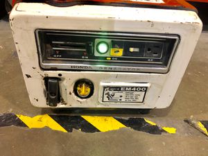 Honda generator em400 for Sale in Bonney Lake, WA