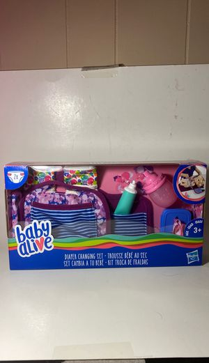 Baby alive diaper changing set for Sale in Winter Haven, FL