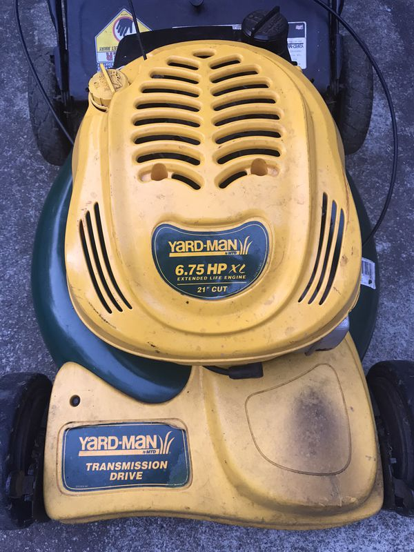 """Yardman Lawnmowers 21"""""""
