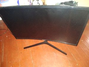 Samsung curved monitor 27inch for Sale in Brooklyn, NY