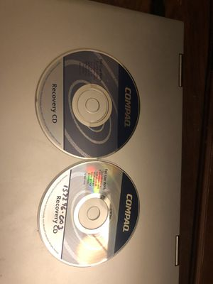 Microsoft Windows XP on Compaq Recovery Disc CD for Sale in West Palm Beach, FL